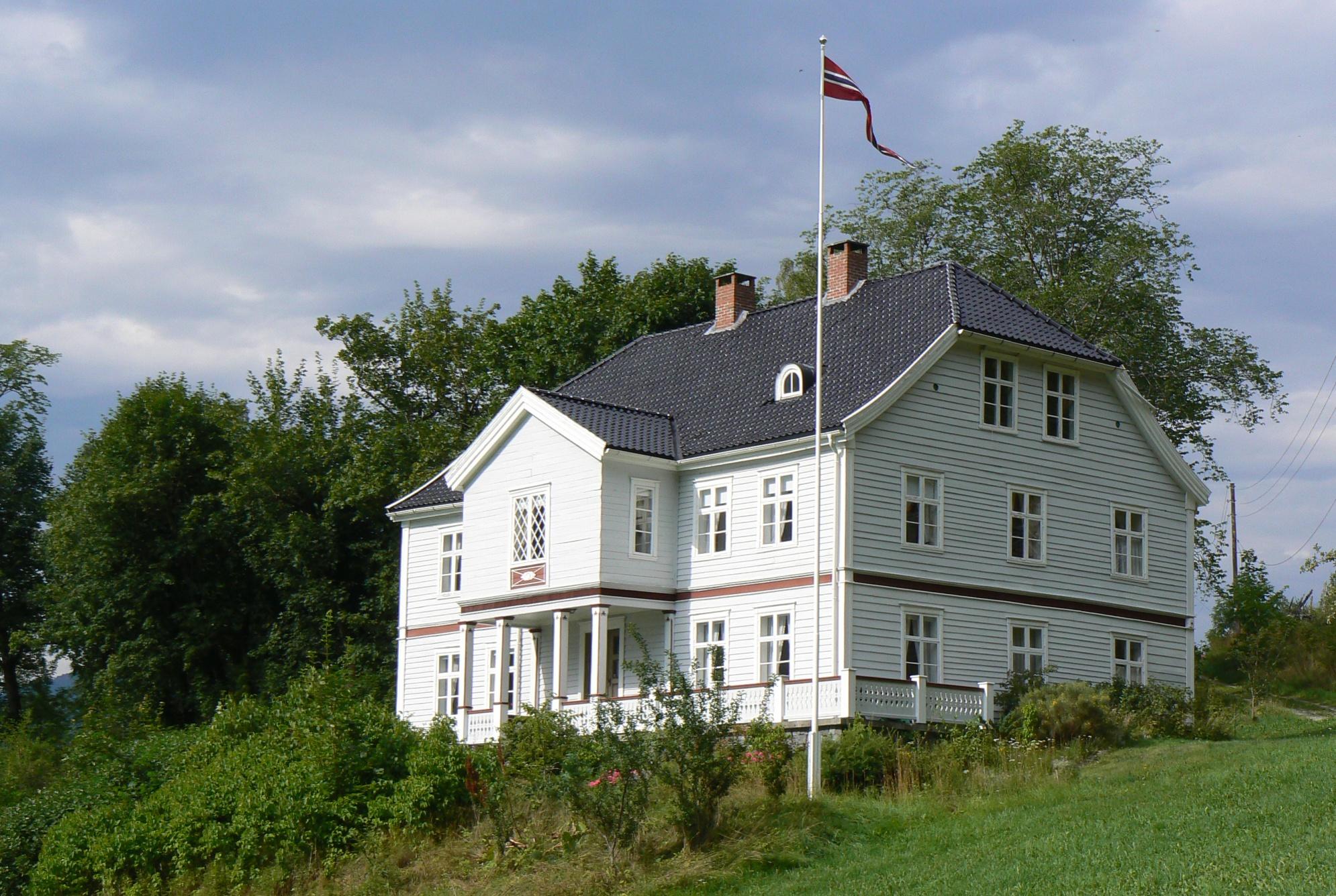 Munthehuset i Luster i Sogn